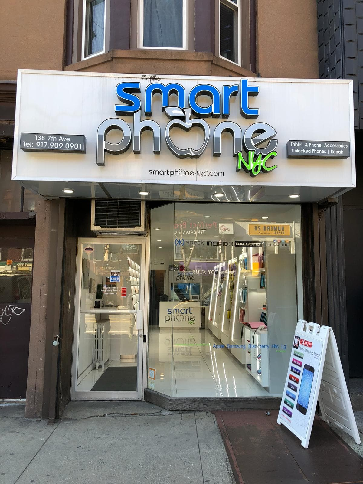 Smart Phone NYC Park Slope Location