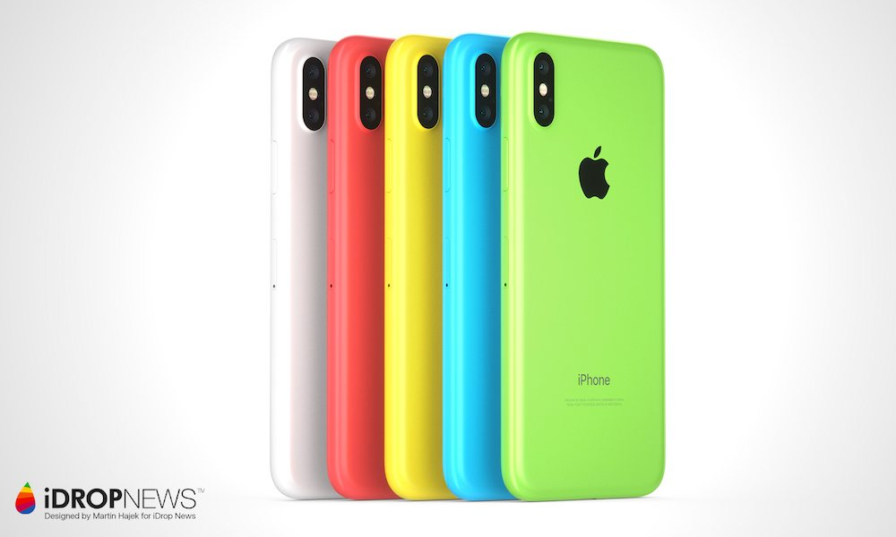 new iPhone Xc colors iDrop News