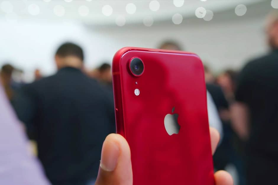 iPhone Xr rear