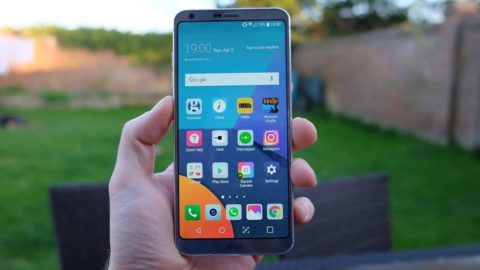 LG G6 - Top 10 Android phones under $400