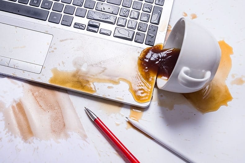 How to Save a Laptop After a Liquid Spill