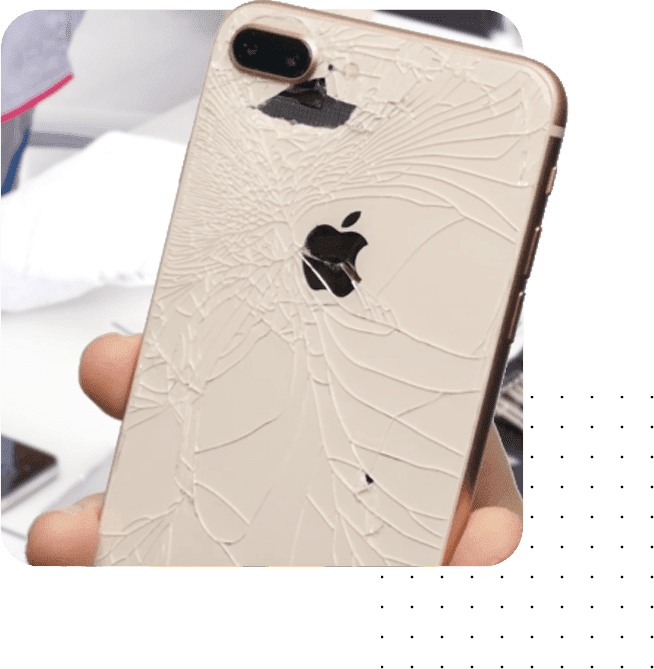iPhone back glass replacement services