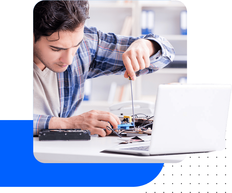 Professional electronics repair services