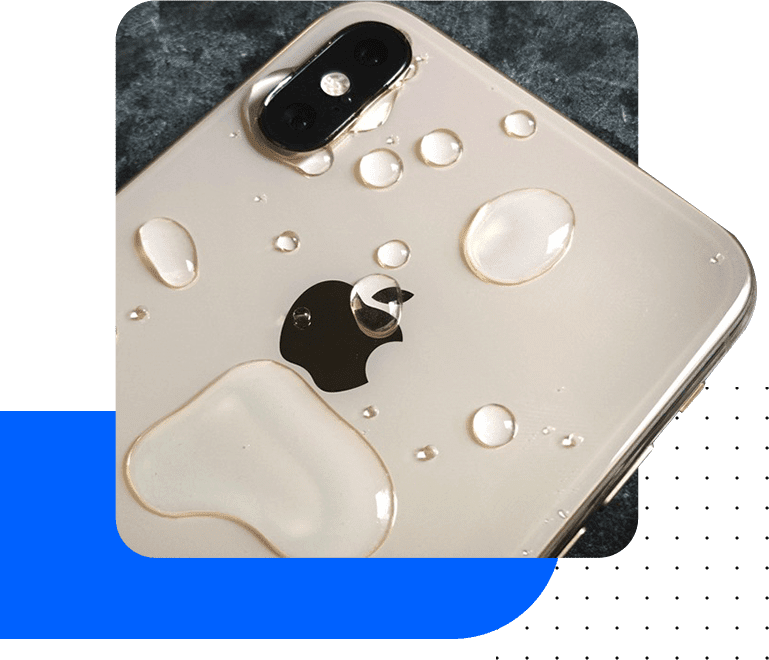 We fix water damaged iPhones of every model